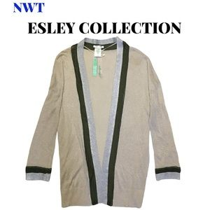 🆕 Esley Collection Shimmer Cardigan, Size Small